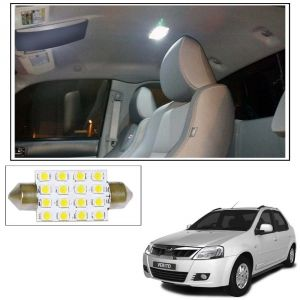 Autoright 16 Smd LED Roof Light White Dome Light For Mahindra Verito