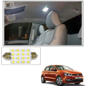 Autoright 16 Smd LED Roof Light White Dome Light For Volkswagen Polo