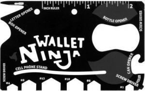 18 In 1 Tool Card Ninja Wallet 18 Multi-utility Knife