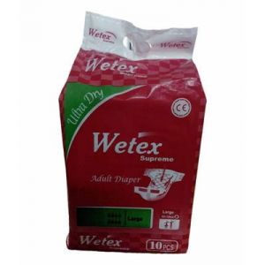 Sanitary Napkins - Wetex Adult Diaper - Large Size