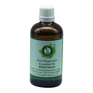 R V Essential Pure Peppermint Essential Oil 100ml- Mentha Piperata
