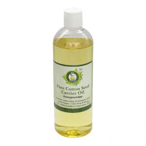 R V Essential Pure Cotton Seed Carrier Oil 200ml- Gossypium Spp