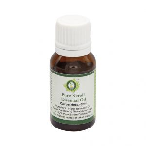 Cooking Oils (Misc) - R V Essential Pure Neroli Essential Oil 10ml- Citrus Aurantium