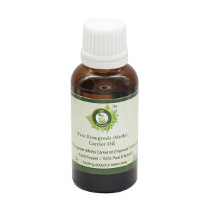 R V Essential Pure Fenugreek(methi) Carrier Oil 30ml-trigonella Foenumgraecum