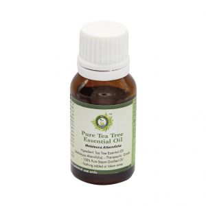 R V Essential Pure Tea Tree Essential Oil 15ml- Melaleuca Alternifolia
