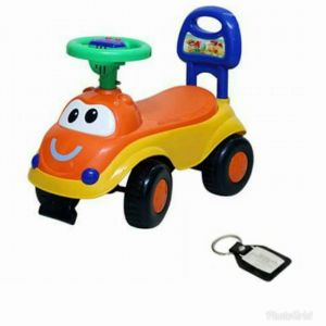 Harry & Honey Baby Toy Car (hh 5851 Orange)
