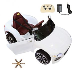 Wheel Power Baby Battery Operated Ride On Bentlay Car White Free Fidget