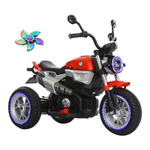 Wheel Power Baby Battery Operated Ride On Ricco Red Bike Free Fidget