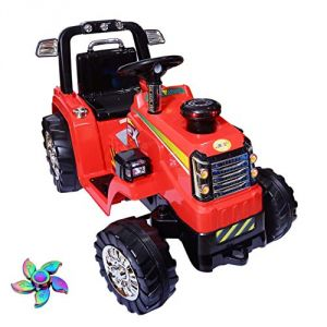 Wheel Power Baby Battery Operated Ride On Tractor Red Free Fidget