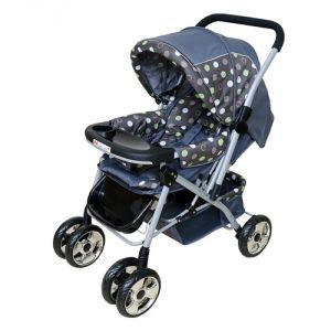 Prams - HARRY & HONEY BABY STROLLER 8585 GREY