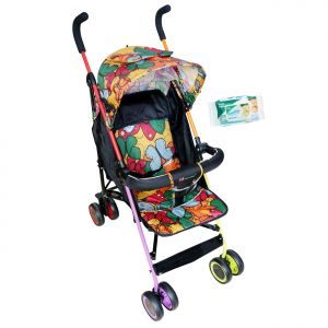 Hh Harry & Honey Baby Blossom Pram Multicolor