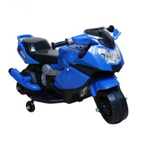 Wheel Power Battery Operated Toys - WHEEL  POWER BATTERY OPERATED RIDE ON KIDS BIKE (88 BLUE)