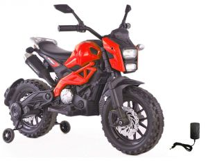 Wheel Power Baby Battery Operated Ride On Motor Red Bike - ( Code - Dls01-red )