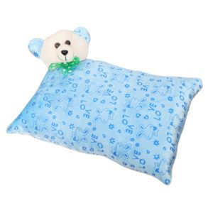 Harry & Honey Rectangular Feathery Soft Baby Pillow Blue