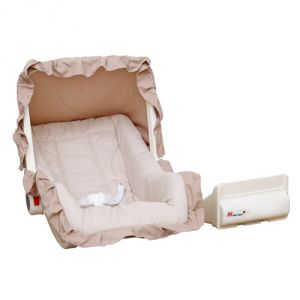 Harry & Honey Baby Carry Cot Cum Rocker Beige