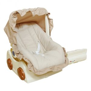 Harry & Honey 2 In 1 Beige Colour Baby Carry Cot Cum Rocker With Baby Wipes