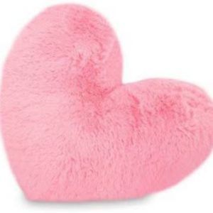 Harry & Honey Little Heart Baby Pink Cushion