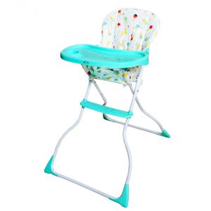 Harry & Honey Portable Baby High Chair Sky-blue With One Key Chain