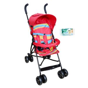 Harry & Honey Baby Bella Pram Red