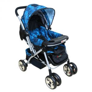 Prams - HARRY & HONEY BABY STROLLER 8585 BLUE