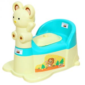 Potty seats - HARRY & HONEY POTTY SEAT A B 1810 OFF WHITE-BLUE
