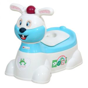 Potty seats - HARRY & HONEY BABY POTTY SEAT HH 1871  WHITE-SKY BLUE