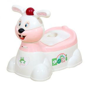 Harry & Honey Baby Potty Seat Hh 1871 White-peach