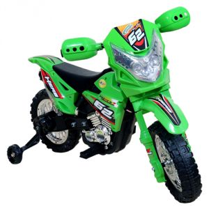 Wheel Power Baby Battery Operated Ride On Power Ranger Bike Zp3999a Green
