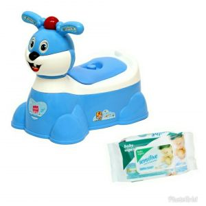 Harry & Honey Diapers, wipes & potty seats - HARRY & HONEY BABY POTTY SEAT (HH1871 BLUE)