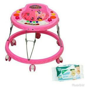 Toy Plus Baby Walker (tp-381 Pink)