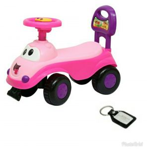 Harry & Honey Bikes - HARRY & HONEY BABY TOY CAR (HH 5851 PINK)