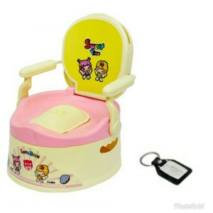 Diapers, wipes & potty seats - HARRY & HONEY BABY POTTY SEAT  (A B 1803 PINK)