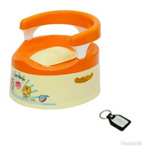 Harry & Honey Baby Potty Seat ( A B 1802 Orange)