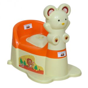 Harry & Honey Potty seats - HARRY & HONEY POTTY SEAT A B 1810 ORANGE