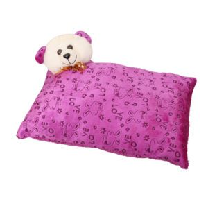 Harry & Honey Rectangular Feathery Soft Baby Pillow Purple