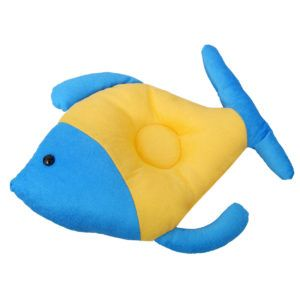 Harry & Honey Ace Fish Baby Pillow Yellow-blue