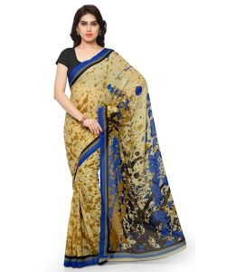Mheart Georgette Multicolor Saree With Blouse(mh006)