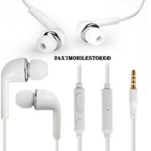 Samsung Mobile Handsfree - Original Samsung Handsfree Earphone With 3.5mm Jack Whiteline