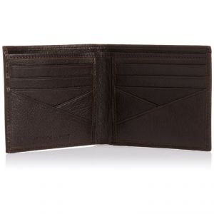 Fastrack Men's Accessories - Fastrack Brown Leather Wallet For Men - (product Code - C0370lbr01)