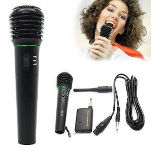 Audio - Dc 1.5v Professional Handheld Wireless Cordless Wired Microphone Mic