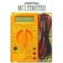 Leads Large LCD With Digital Multimeter