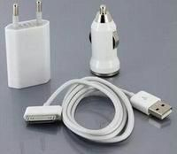 3 In 1 iPhone Car Charger&travel Charger&usb Cable