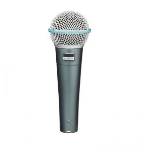 Krown Beta-58 Dynamic Vocal Microphone With Low Noise 5mtr Mic Lead