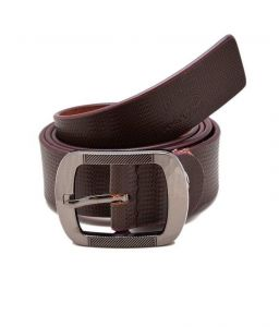 Porcupine Brown Pure Leather Formal Belt