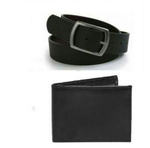 Executive Combo Pack For Men Of Wallet With Belt