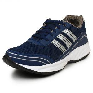Men's Footwear - BUWCH MEN'S BLUE SPORTS SHOE