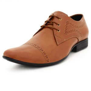 Formal Shoes (Men's) - BUWCH MENS FORMAL TAN SHOE