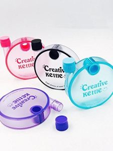 Kreative Kudie Creative Kettle Bottle For Kids,sports ,gym Purpose
