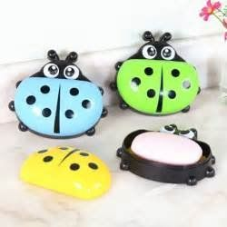 Kreative Kudie Lady Bug Soap Dish Cartoon Dish