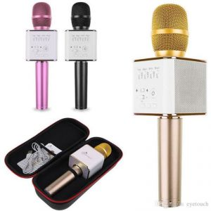 A Five Karaoke Music Mic Bluetooth Speaker Microphone